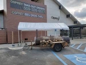 Smoker at Spokane's Osprey Restaurant & Bar